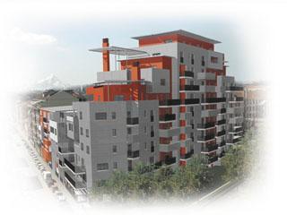 Torino, Via Avellino - Le terrazze sul fiume - Sangiorgio ...